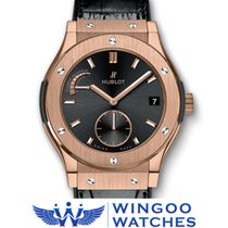 Hublot - CLASSIC FUSION POWER RESERVE KING GOLD Ref. 516.OX.14...