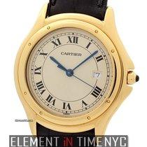 Cartier Cougar Collection 18k Yellow Gold 33mm Quartz Ref.