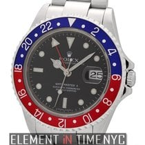 Rolex GMT-Master II Red/Blue Pepsi Bezel Error Dial D Serial...