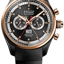 Zenith El Primero Rattrapante Chronograph 44mm PVD and Rose