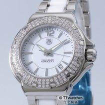TAG Heuer Formula 1 Lady Diamonds 0.75ct Ceramic  50% Off Retail