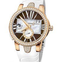 Ulysse Nardin GMT Dual Time Executive Lady in Rose Gold with...