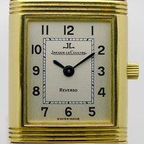 Jaeger-LeCoultre Reverso 18ct Gold Damen mit Gelbgoldband