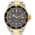 Rolex Men's Rolex Submariner 18K YG & S/S Watch 16613