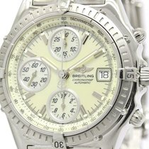 Breitling Polished Breitling Chronomat Mop Dial Steel Automati...