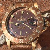 Rolex GMT Master Gold Brown Tiger Eye