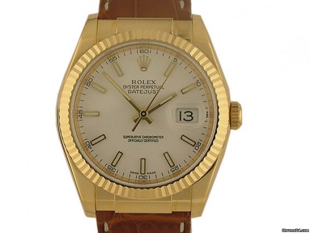 Rolex Datejust 36mm Gelbgold