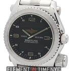 Breitling Emergency 18k White Gold 43mm Black Dial Ref. J56321