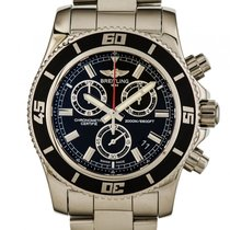 Breitling Superocean Chronograph M2000 Stahl Quarz Chronometer...