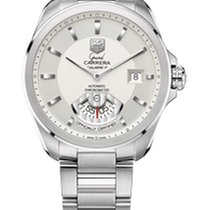 TAG Heuer Grand Carrera Calibre 6 RS Automatic Silver Dial