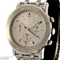 Corum Admirals Cup Ref-29683020V585 Stainless Steel Box Papers...