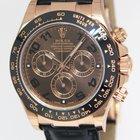 Rolex Daytona Chronograph 18k Rose Gold Watch Ceramic B...