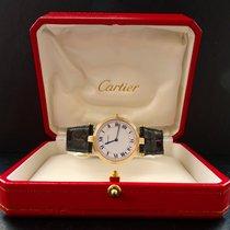 Cartier Vendome Gelb Gold 18K 750 TriColor 30mm Unisex