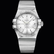 Omega Constellation Quartz Co-Axial 35mm Silver Dial T