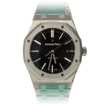 Audemars Piguet ROYAL OAK JUMBO ACCIAIO BLACK DIAL