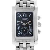 Longines DolceVita Men's Stainless Steel Chronograph Watch...
