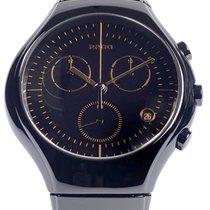 Rado True Chronograph Black Index Gold