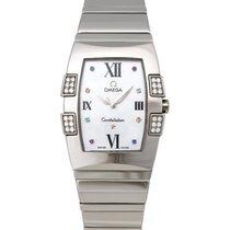 Omega Constellation Quadrella Diamond Ladies Watch – 1586.79.00