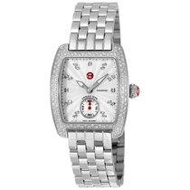 Michele Mini Urban Silver Diamond Dial Ladies Watch