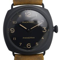 Panerai New  Radiomir Ceramics Black Manual Wind PAM00613