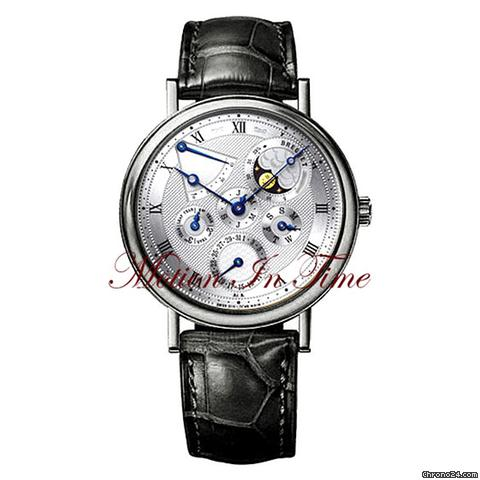 Breguet CLASSIQUE PERPETUAL CALENDAR MOONPHASE WHITE GOLD AUTOMATIC