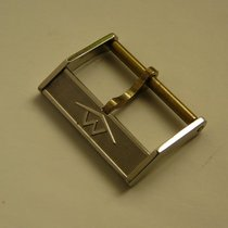 Movado vintage steel buckle 18 mm, NOS