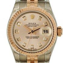 Rolex Datejust Lady Stahl Roségold Everose Diamond Automatik...