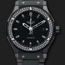 Hublot Classic Fusion Black Magic Diamonds Bracelet 42 mm