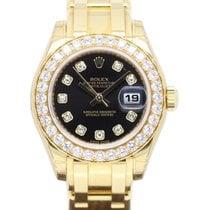 Rolex UNWORN PEARLMASTER 80298 18CT YELLOW GOLD DIAMOND DIAL