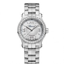 Chopard Happy Sport Silver-Toned Dial Ladies Watch