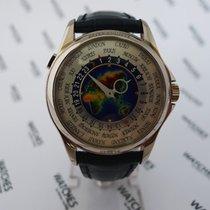 Patek Philippe World Time Enamel Dial White Gold 5131G-010