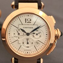 Cartier PASHA CHRONO W3019951 ROSE GOLD