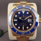Rolex Submariner yellow gold 116618LB
