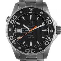 TAG Heuer Aquaracer Stahl Quarz Armband Stahl 43mm Bj.2010...