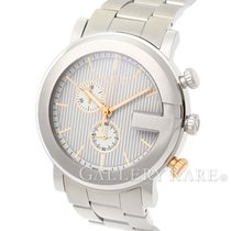 Gucci G Chrono Quartz Stainless Steel 44MM