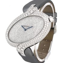 Cartier 18K White Gold WG800022, Original Diamond Dial &...