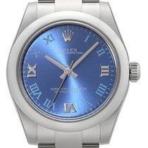 Rolex Oyster Perpetual 31 mm Ref. 177200 Zifferblatt Blau