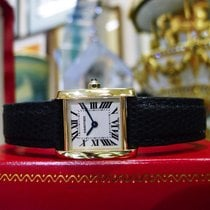 Cartier Tank Francaise 18k Yellow Solid Gold Ladies Watch Ref:...