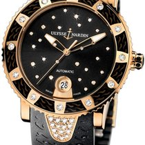 Ulysse Nardin Lady Marine Diver Starry Night in Rose Gold with...