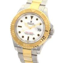ロレックス (Rolex) Yatch Master White Dial Yellow Gold Steel 40MM...