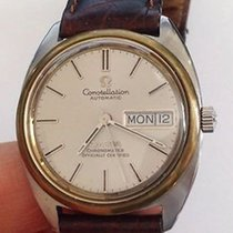 Omega Constellation 18k & Stainless Steel Vintage Watch...