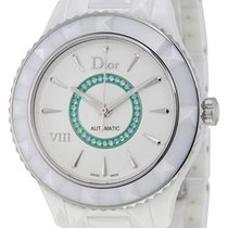 Dior Limited Edition  VIII White Ceramic Womens Watch CD1245EE...