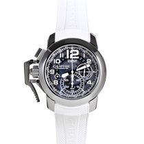 Graham Chronofighter Oversize Steel Target Blue Limited...