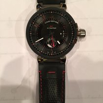 Louis Vuitton TAMBOUR EVOLUTION GMT 43 Q11561