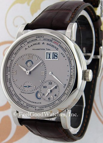 A. Lange &amp;amp; Shne 116.025 Lange 1 Timezone, Platinum