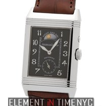 Jaeger-LeCoultre Reverso Collection Duo 18k White Gold Day and...