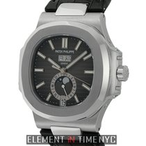 Patek Philippe Nautilus Annual Calendar Moonphase Stainless...