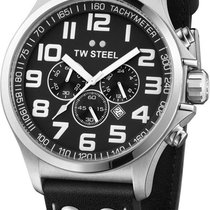 TW Steel Pilot Chrono TW-412 Herrenchronograph Sehr gut ablesbar