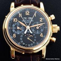 Patek Philippe Perpetual Split Chronograph Ref# 5004R, Black Dial