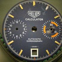 Heuer Calculator blue dial